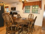 Kitchen/Dining Room Table seats 6-8