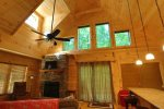 Newly landscaped backyard, firepit and hot tub and patio furniture