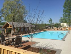 Tiny House Lakeview, The Village at  Flat Rock, NC overlooking Lake,spacious screen porch