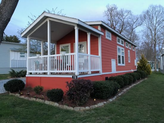 Red Bud Tiny House Village At Flat Rock Nc A Simple