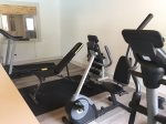 Work Out Area in ClubHouse open to guests
