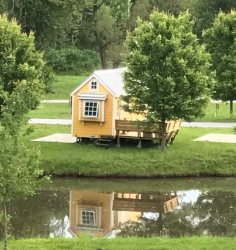 Tiny House - WIFI -  Loft - By the pond - Simple Life Tiny House Village - Swimming Pool