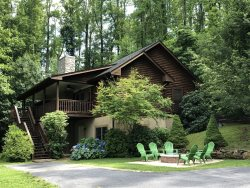 Secluded - Log Cabin -Fire pit - Mountain Views - Romantic -