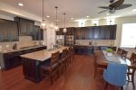 Gourmet Kitchen w Stainless Steel Appliances and Granite Countertops