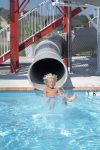 Water Slide Fun at Coastal Club Resort in Lewes Delaware - close to your waterfront beach vacation home