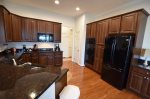 Your Gourmet Kitchen w Matching Black Ice Appliances Including Range, Oven, Refrigerator, Dishwasher and Disposal