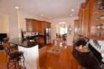 Another View of your Kitchen - hardwood floors throughout the home