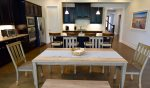 Dining Room Area - Seats 6 at the Table  4 More at the Kitchen Counter