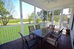 Huge Screened in Porch w Panoramic Golf Course Views. Gas Grill.