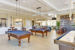 Coastal Club Clubhouse w Restaurant, Bar, Game Rm w Pool Tables and Indoor Shuffleboard, Fitness Gym, Locker Rooms, Free Coffee and Hot Chocolate, Reading Room and More
