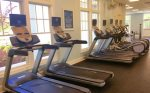 Fitness Gym at Coastal Club Ellipticals and Walking Machines not Shown