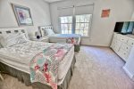 Master Bedroom 2 w Queen Bed, Full Bath Ensuite and Walk In Closet
