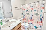 Living Room / Den on Main Floor a 2nd Gathering Area for You and Your Guests