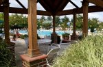 1 of 2 Outdoor Pools at Bear Trap Dunes w Shady Coves, Diving Board and Staffed w LifeGuards