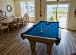 Brand New Premium Furnishings Throughout Including this Slate Pool Table - Views of the Bay