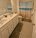 2 Full  Bathrooms Upstairs Including This One w Dual Vanities