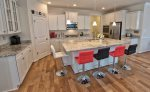 Chef Inspired Kitchen w Granite Countertops and Stainless Steel Appliances