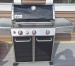 Your Gas Grill is Located on Your Dock Deck in the Back Yard