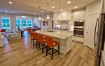 Chef-Inspired Kitchen w Stainless Steel Appliances, Granite Counters, Gas Range, Microwave, Dishwasher & Disposal