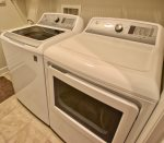 Your Washer and Dryer on the Main Floor in Your Coastal Club Beach Houe