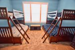 Bedroom 3 on Main Floor w 2 Bunk Beds - Each Bed is a Twin Over Double Sleeps up to 6