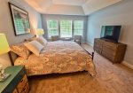 Master Bedroom Suite 2 Upstairs w private full bath and walk in closet and huge HDTV