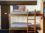 Bunk beds and entryway
