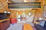 Unit 1027 - Studio w/ Loft Floor Plan