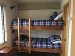 Twin bunks in bedroom