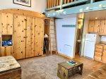 Unit 123 - Studio w/ Loft Floorplan