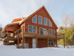 Classic Sunday River ski chalet with lots of glass