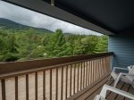 Private Deck with Trail Views
