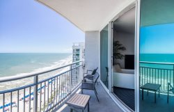 2 BR, 2 BA Oceanfront King Suite at Ocean's One Resort!