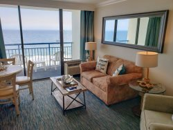 Oceanfront one bedroom at Coral Beach!