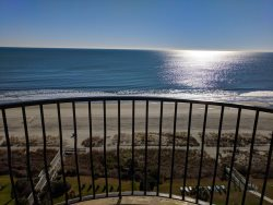 Oceanfront one bedroom at Palms!