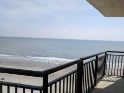 Ocean front one bedroom at BlueWater 1001B!