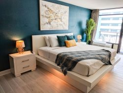 Landmark interior studio-endless amenities! Unit 708
