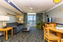 Oceanfront One Bedroom Suite at Paradise Resort! Unit 1408