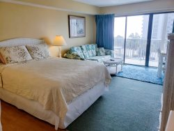 Ocean View Condo in Central Myrtle Beach! BlueWater Villas II 308 B