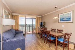 Oceanfront King Suite at the Caravelle Resort~Unit 1244
