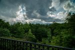 Covered Deck, gas grill, BIG VIEW