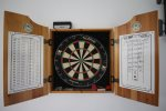 Have a friendly competition with the dartboard