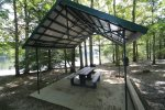 picnic shelter at park