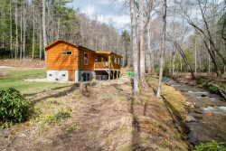 Creekside Log Cabin