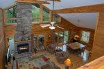 Blissful Bear Private Log Cabin Retreat in Connestee Falls