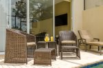 Relax in the warm Florida breezes in your screened lanai and enjoy yourself
