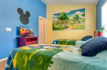 What more could you ask for in this fun and colorful Mickey Mouse bedroom