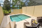Your own private lanai and splash pool will be a huge hit with the whole family