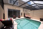 Your family will surely love their own sunny south facing private pool