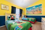 Your kids will be jumping with joy when they walk into this magical Disney themed room